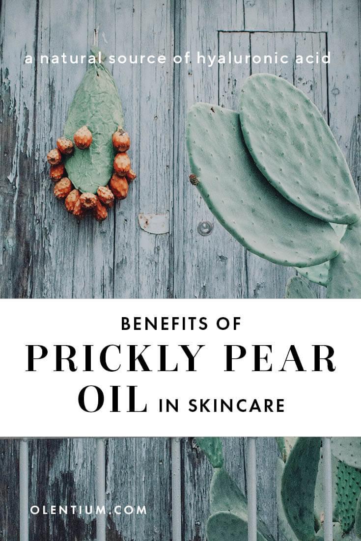 prickly pear oil in skincare